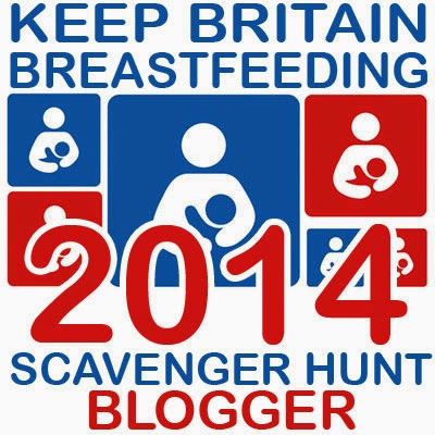 The Benefits of Breastfeeding – Day 1 of the Scavenger hunt