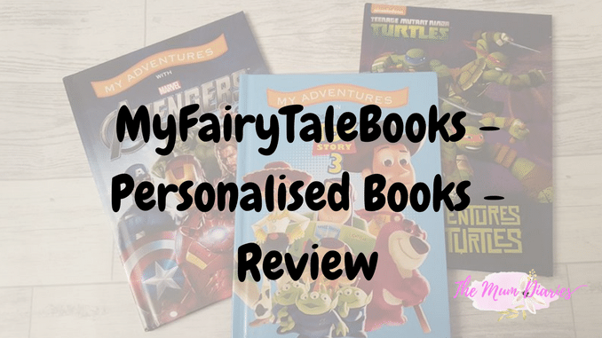 Personalised books with MyFairyTaleBooks