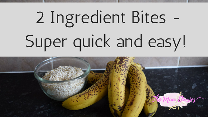 2 Ingredients – Cooking with Children – The Mum Diaries