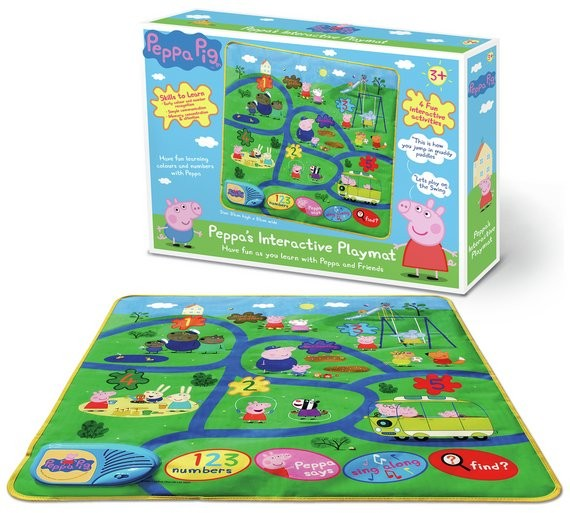 The Peppa Pig interactive Play Mat