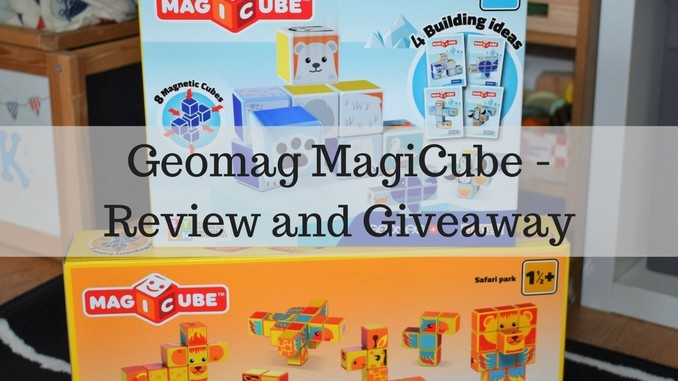 Geomag MagiCube Review and Giveaway