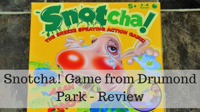 Snotcha! Game from Drumond Park – Review and Giveaway