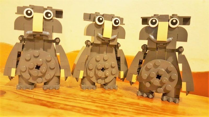 3 Moz lego creatures