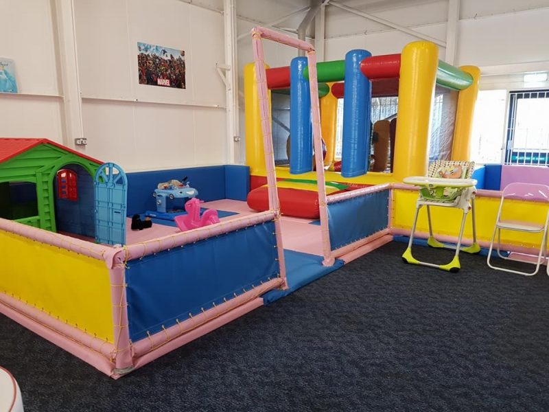 Soft play at Tramp2Lean Peterborough
