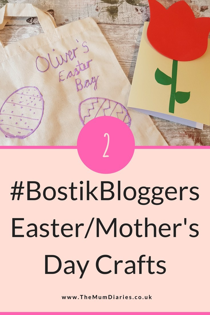 #BostikBloggers Easter/Mother's Day Crafts