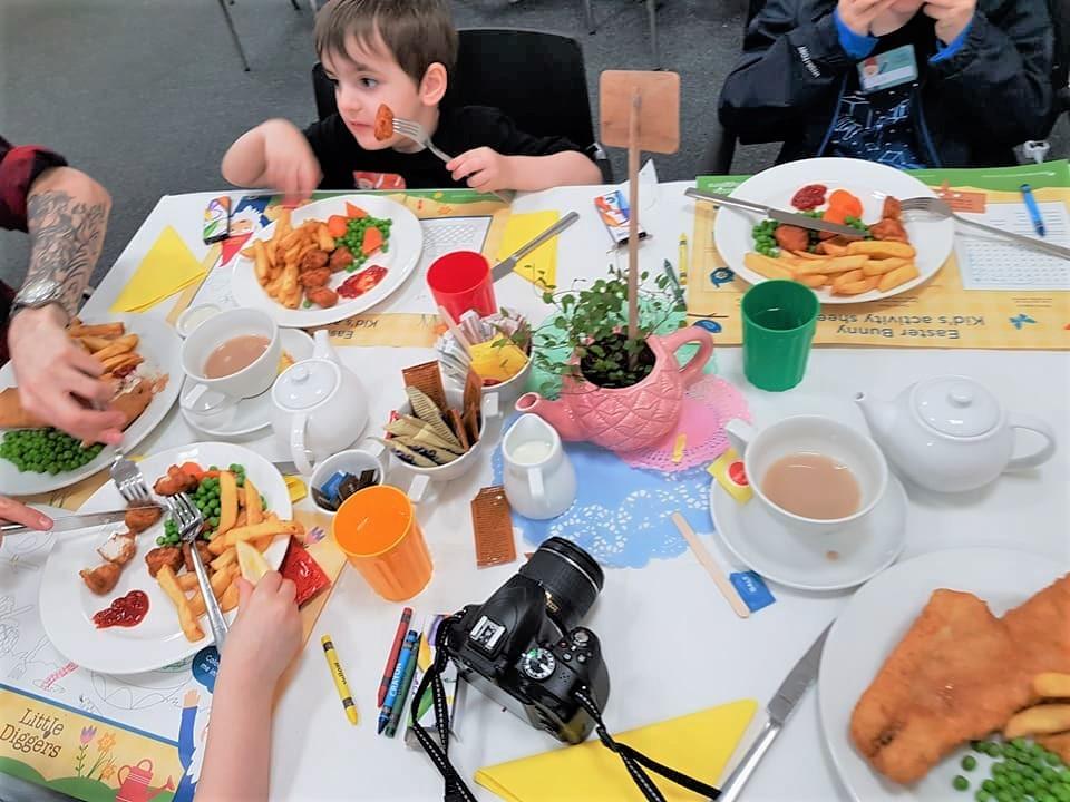 Food at Wyevale Garden Centre